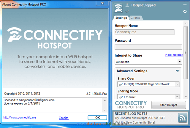 Connectify Pro Activator